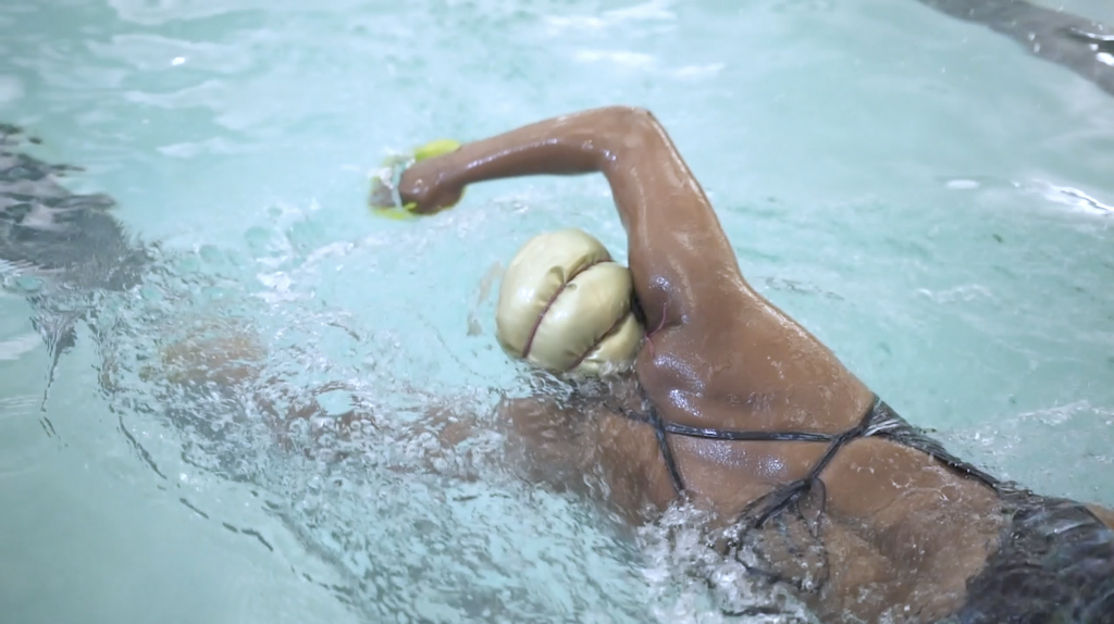 CDATbusiness | Noelle Singleton, AfroSwimmers, at work